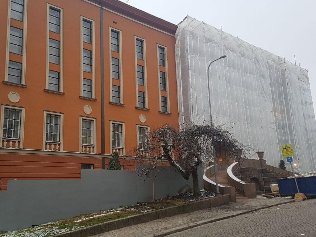 Kansallisarkisto Turku julkisivu, ikkuna, vesikatto ja pääportaikon kunnostukset rakennuttaminen ja valvonta tilaaja Senaatti-kiinteistöt