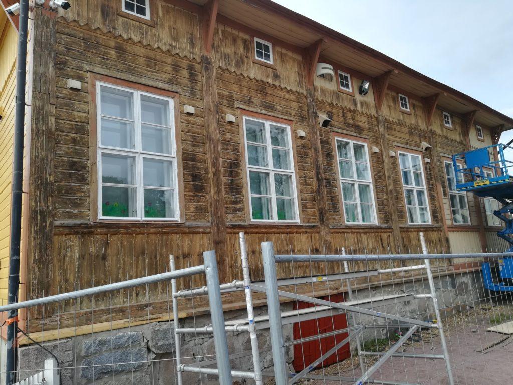 Seikowin päiväkoti, Uusikaupunki peruskorjaus rakennuttaminen ja valvonta tilaaja Uusikaupunki